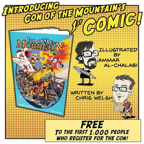 Con of the Mountain 1st Comic