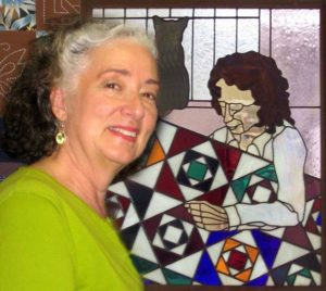 Pepper Cory, longtime quilter and instructor